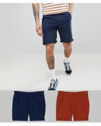 D-Struct - Chino Shorts 2 Pack - Lyst