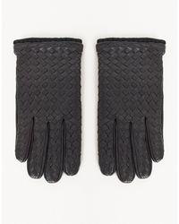 ASOS Leather Driving Gloves - Black