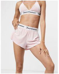 Juicy Couture Shorts rosas