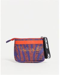 House of Holland Printed Purse With Card Holder - Multicolour