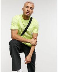 Marshall Artist Data Flow Printed T-shirt - Yellow