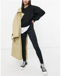 s t e e l e. Seam Detail Slim Track Trousers - Black
