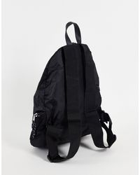 ASOS Backpack With Front Clip Detail - Black