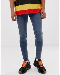 Cheap Monday - Him Spray Super Skinny Jeans In Mode Blue - Lyst