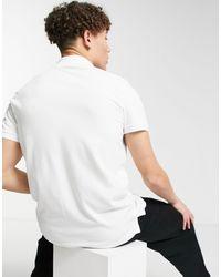 Hollister Polo slim bianca - Bianco
