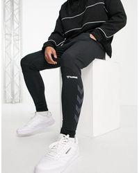Hummel Rufus - Pantalon fuselé - Noir