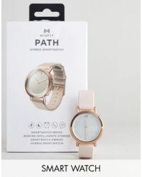 Misfit - Mis5024 Leather Hybrid Smart Watch - Lyst