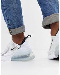 Nike Air Max 270 Sneakers In White Ah8050-100