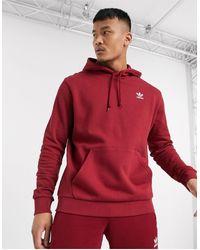 adidas Originals - Бордовый Худи С Логотипом -красный - Lyst