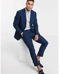 Esprit Slim Fit Suit Jacket - Blue