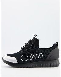 Calvin Klein Черные Кроссовки Ron-черный Цвет
