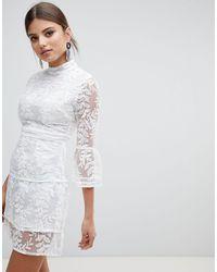 Boohoo Vestito - Bianco