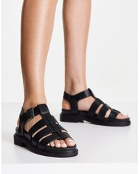 New Look - Chunky Strappy Flat Sandal - Lyst