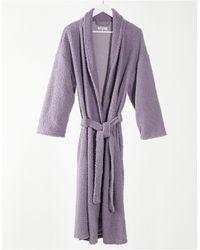 Brave Soul Lounge Borg Robe - Purple