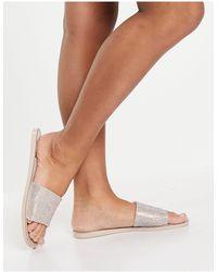 SIMMI Shoes Simmi London – Journi – Gel-Sandaletten - Pink