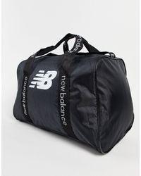 New Balance Logo Duffle Bag - Black