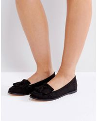London Rebel - Fringe Tassle Loafers - Lyst