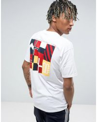 10.deep 10.deep Victory Sport T-shirt With Back Print - White