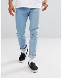 Levi's - Levi's Line 8 Unisex Slim Jeans Algebra - Lyst