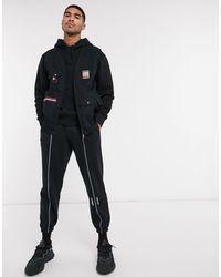 adidas Originals Черный Жилет Adiplore