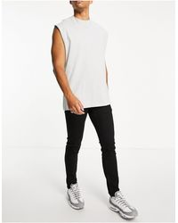 Wesc Alessandro Skinny Fit Jeans-black