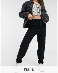 Missguided Mom Jeans - Black