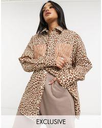 Reclaimed (vintage) Inspired Unisex Shirt - Brown