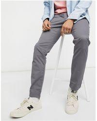 Timberland Pantalon chino stretch en sergé - Gris