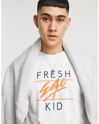 Fresh Ego Kid Big Heritage T-shirt - White