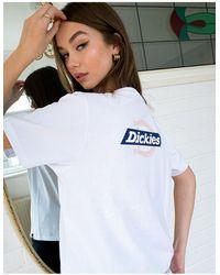 Dickies Ruston Back Print T-shirt - White