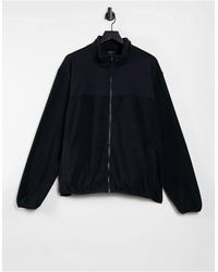 New Look Fleece Tracksuit Sweat - Black