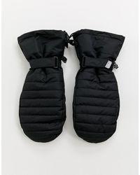 ASOS 4505 - Moufles de ski - Noir - Lyst