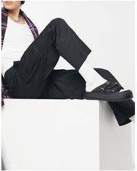 Weekday Pantalones negros cargo