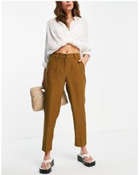 Y.A.S Co-ord Suit Slim Pants - Green