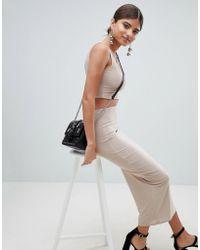 PrettyLittleThing - Slinky Midaxi Skirt - Lyst