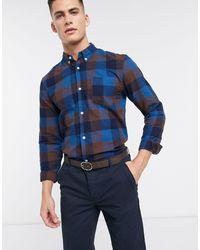Bellfield Check Shirt - Blue