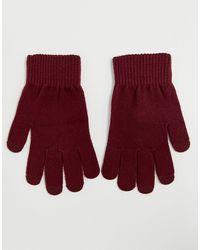 ASOS Touch Screen Gloves - Multicolor