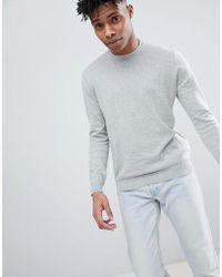 Benetton - Crew Neck Knit Jumper 100% Cotton - Lyst