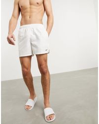 Nike 5inch Volley Shorts - White