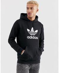 adidas Originals Худи С Логотипом -черный