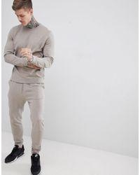 Lyst - Adidas Originals Ac Terry Pullover Hoodie In Beige Bk7193 in ... bd13418150