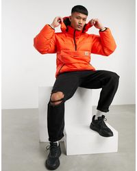Carhartt WIP Дутая Куртка Оранжевого Цвета -оранжевый Цвет