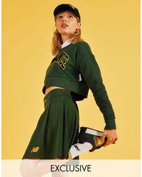 New Balance Pleated Skirt - Green