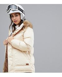 Burton Vallah Jacket In Beige - Natural