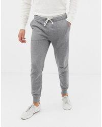 J.Crew Mercantile Slim Fit Cuffed joggers In Grey Marl - Gray