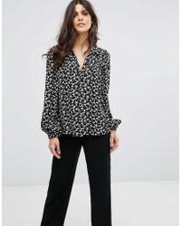 Ba&sh - Floral Shirt - Lyst