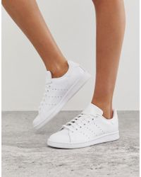 super popular 405f6 50f9b adidas Originals Stan Smith Nuud Nubuck Sneakers In Pink - Lyst