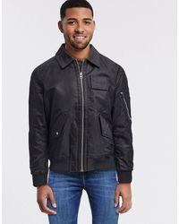 Calvin Klein Куртка Пилот -черный
