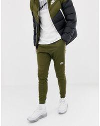 f59e78b17023 Nike Tribute Skinny Joggers In White 678637-100 in White for Men - Lyst