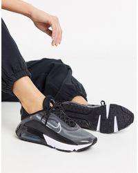 Nike - Черно-серебристые Кроссовки Air Max 2090-черный - Lyst